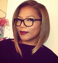 awesome Side Swept Cute Wavy Bob for  African American Women - Girls SN -  Fashion & Style