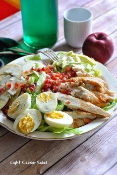 La salade Caesar c'est juste superbe…mais quand c'est light ou un peu plus light dirons-nous c'est encore meilleur.On a trouvé ça juste trop bon avec les enfants…!La s…