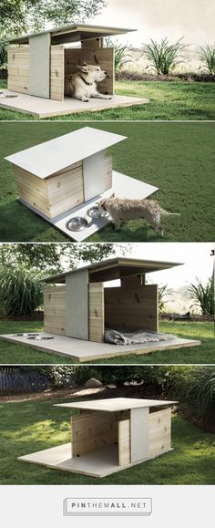 Puphaus: A Modern Dog House from Pyramd Design Co. - Dog Milk
