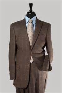 Men's Grey Plaid Blazer, White Dress Shirt, Charcoal Wool Dress ...