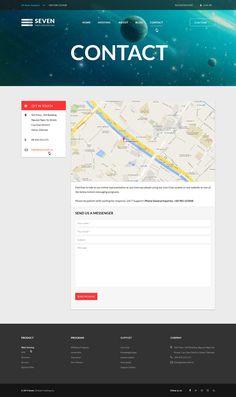 Seven | Hosting Template Responsive for Joomla 3.x on Behance