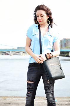 Sarah Butala, Strey Designs. Leather goods   streydesigns.com