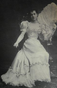 1892:  As the years passed, Alva Astor seemed only to grow in beauty.
