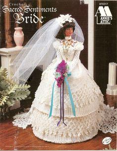 137. Barbie fashion doll dress-crochet pattern in pdf by Vandihand on Etsy