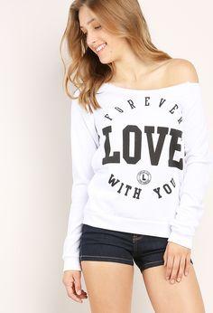 forever love sweatshirt