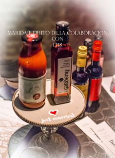 Gaspacho al vinagre de Vermuth, fruto de la colaboracion entre Casa Cariot, Vinagre Badia y le18