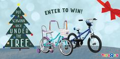 Win! Put a Schwinn Bicycle under the tree this Christmas!