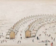 Rising street LS Lowry's paintings in China