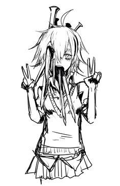 Bloody anime girl Guro Itosiki_zetu