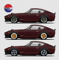 Classic Car News Pics And Videos From Around The World 240z Datsun, Datsun Car, Bugatti, Lamborghini, Ferrari, Nissan Z Cars, Jdm Cars, Retro Cars, Vintage Cars