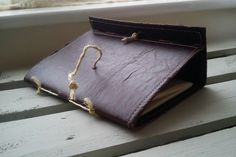 Handmade Gothic Vintage Shabby Chic leather Fabric Paper Notebooks Journal Diary | eBay