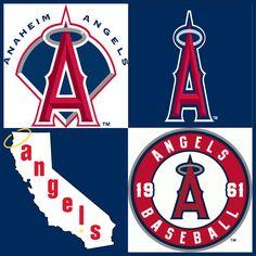 Anaheim Angels Baseball Signs, Angels Baseball, Baseball Art, Best Baseball Player, Major League Baseball Teams, Angel Stadium, Angel Wallpaper, Anaheim California, Sports Team Logos