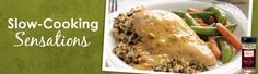 Tastefully Simple - Slow-Cooker Meals