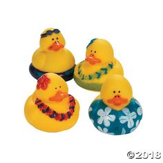 Bathing Accessories 24 Pieces Strong Resistance To Heat And Hard Wearing Fun Express Vinyl Mini Baby Shower Rubber Duckies