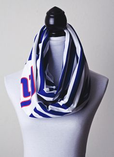 NY Giants Infinity Scarf by MLApparel on Etsy, $25.95