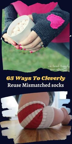 Lonely, mismatched socks have been roaming the earth since ancient times, when washers and dryers were first invented. #65Ways #Reuse #Mismatchedsocks 1 Dollar Shop, Oscar Fish, Blue Jeep, Korean Eye Makeup, Ankle Jewelry, Bridal Heels, Office 365, Contact Lens, Dryers