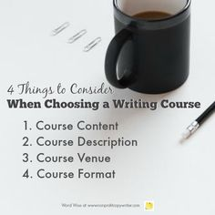 4 things to consider when choosing writing course with Word Wise at Nonprofit Copywriter Writing Websites, Writing Courses, Writing Resources, Writing Services, Easy Writing, Make Money Writing, Article Writing, How To Make Money, Writing Process