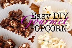 easy gourmet flavored popcorn recipes