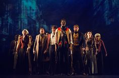 The 2014 Broadway Revival of Les Misérables at the Imperial Theater.