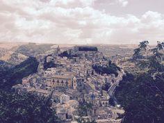 Ragusa Ibla - Italy - La parte bassa e antica della città