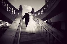 Inarbys & Hugo on Borrowed & Blue.  Photo Credit: Wedding Meets Fashion