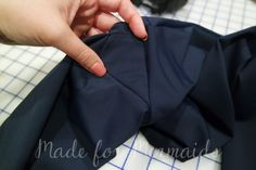 Adding a gusset to leggings