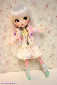 Custom PULLIP doll POPPY WHITE by Nerea Pozo | Flickr - Photo Sharing!