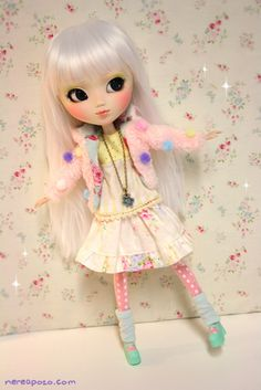 Custom PULLIP doll POPPY WHITE by Nerea Pozo | Flickr - Photo Sharing!
