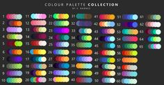 Colour Palettes by 100starryskies