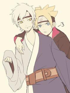 Mitsuki and Boruto
