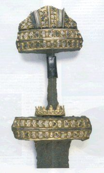 A sword from the Viking cemetery at Kilmainham