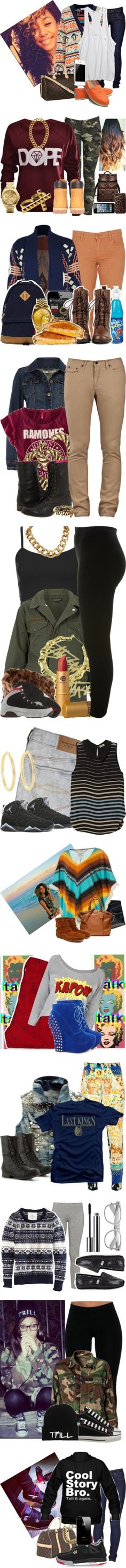 """2012-2013n Dope Sh*t"" by fashionsetstyler ❤ liked on Polyvore"