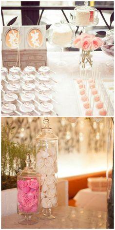 Chá de panela; tons pasteis; rosa claro; pink. buquedeperolas.com