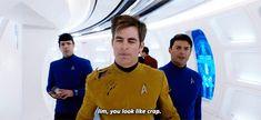 Karl Urban as Bones in Star Trek Beyond.
