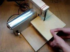 Mini DIY belt sander.