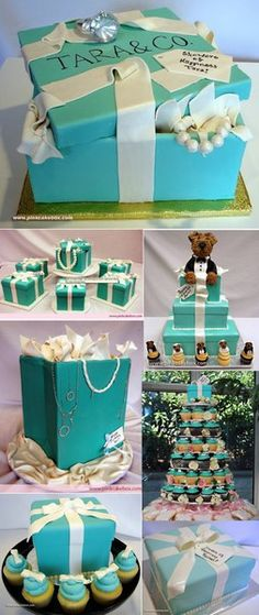 Tiffany & Co. inspired party
