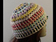 Crochet Geek - Streamer Crochet Hat - YouTube