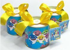 lembrancinha baby shark simples Baby Boy Birthday, 3rd Birthday, Birthday Party Themes, Shark Party, Baby Shark, Baby Shower, Pink, Veronica, Ideas