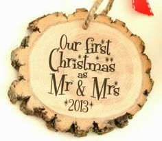 Our First Christmas as Mr and Mrs. NEED this !