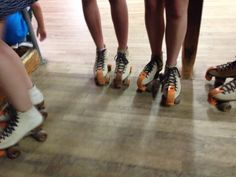 The roller rink from the 50's
