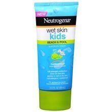 Neutrogena Wet Skin Kids Sunblock Lotion SPF 45+ 3.0 oz. (Quantity of 4) by Groceries To Your Door. $52.01