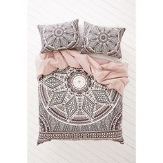 Magical Thinking Petra Geo Medallion Duvet Cover ($119) ❤ liked on Polyvore featuring home, bed & bath, bedding, duvet covers и medallion bedding