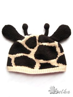 cute giraffe hat.