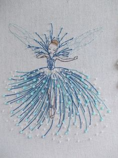 Hand Embroidery and Its Types - Embroidery Patterns - Tanya Kokorina, perfection. Embroidery Stitches Tutorial, Flower Embroidery Designs, Creative Embroidery, Paper Embroidery, Crewel Embroidery, Hand Embroidery Patterns, Embroidery Techniques, Beaded Embroidery, Cross Stitch Embroidery