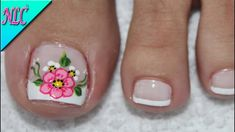 The advantage of the gel is that it allows you to enjoy your French manicure for a long time. There are four different ways to make a French manicure on gel nails. Pretty Pedicures, Pretty Toe Nails, Cute Toe Nails, Pretty Toes, Toe Nail Art, Pedicure Designs, Toe Nail Designs, Hair And Nails, My Nails