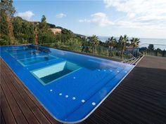 minimalistic luxury villa in Marbella Contemporary Design, Modern Design, Spanish Mansion, Marbella Club, Modern Pools, Mansions Homes, Interior Architecture, Interior Design, Cool Pools