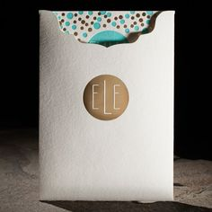 Dots foil stamped Bat Mitzvah Invitation sleeve from Smock