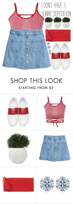 """""""i just wanna sit in my room with somebody i really like and talk about the stars"""" by exco ❤ liked on Polyvore featuring Valentino, H&M, Neiman Marcus, clean, organized and rosegal"""