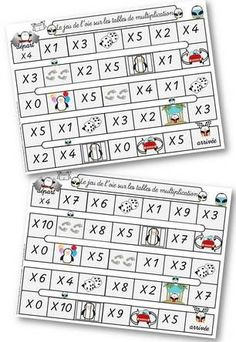 La multiplication : leçons, quelques outils et jeux Montessori Math, Math School, Multiplication And Division, Cycle 3, Data Science, Math Activities, Classroom, Kids, Leo