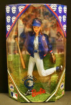 1999 Chicago Cubs Barbie